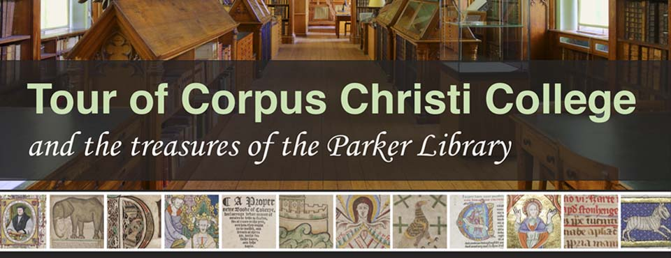 Corpus Christi College Library, Cambridge University poster